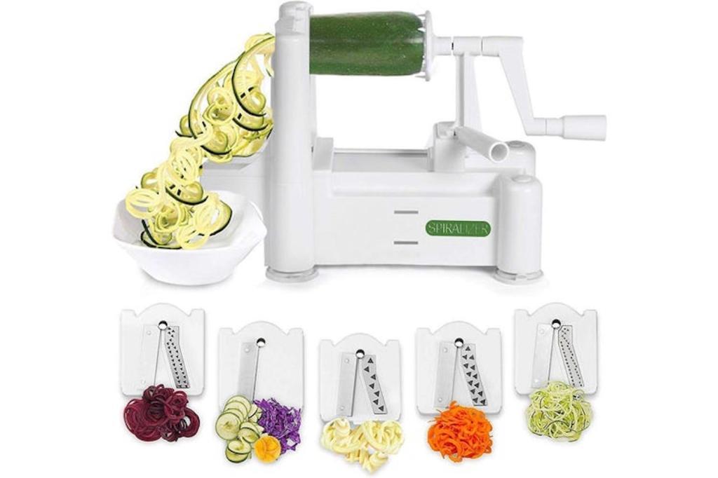 vegetable spiralizer machine