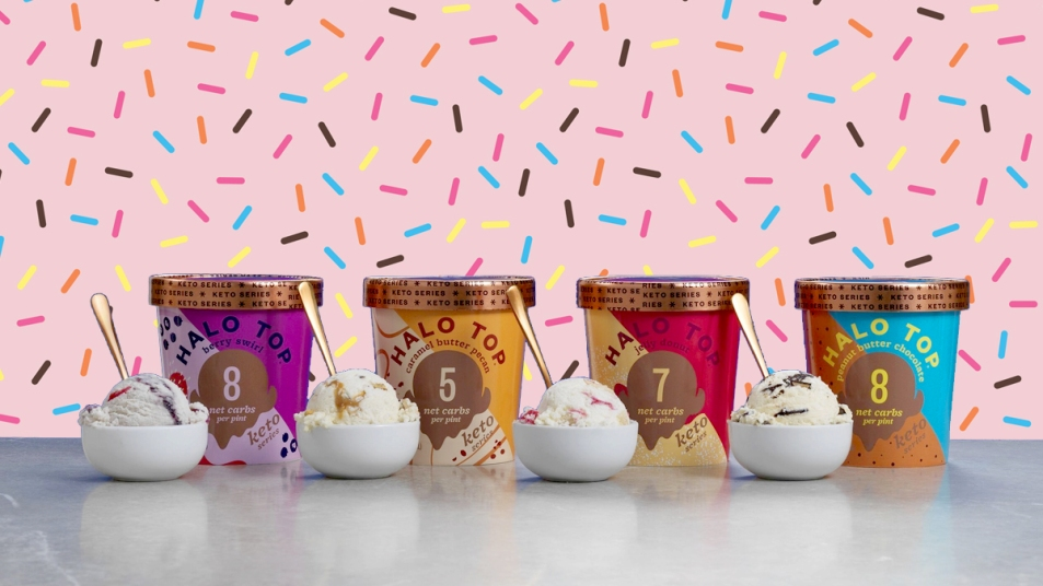 Halo Top keto-friendly ice cream