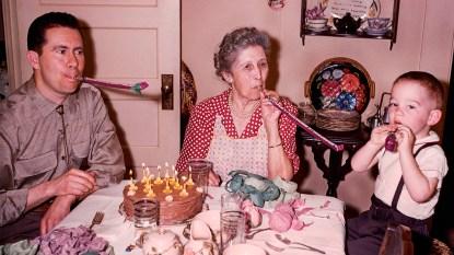 retro birthday picture