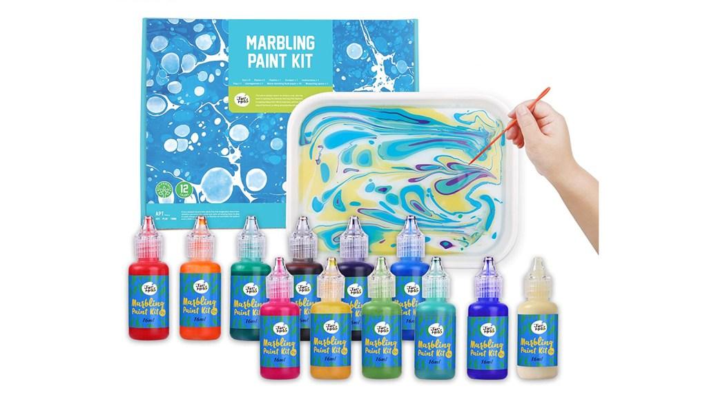 marbling art kit