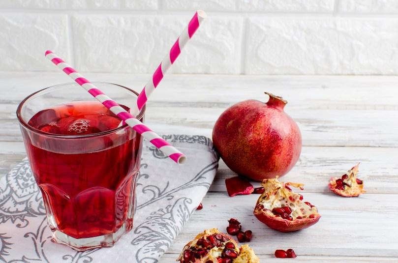 pomegranate juice helps prevent cervical cancer