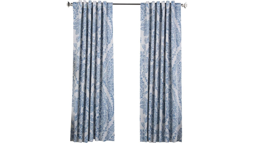 paisley blackout curtains