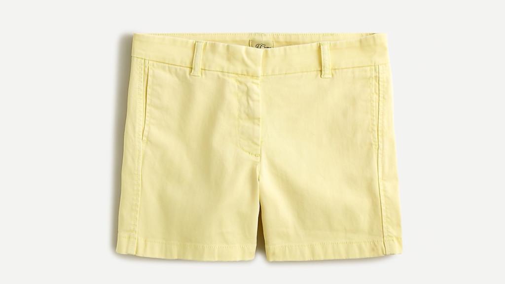 J Crew shorts for women over 50
