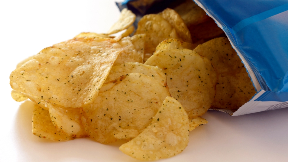 Potato chip bag
