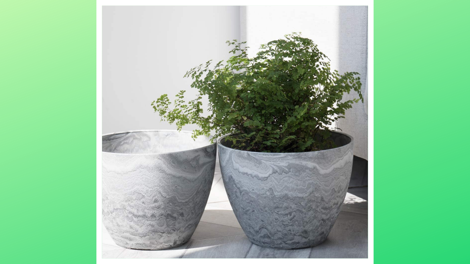 Outdoor planters for your porch