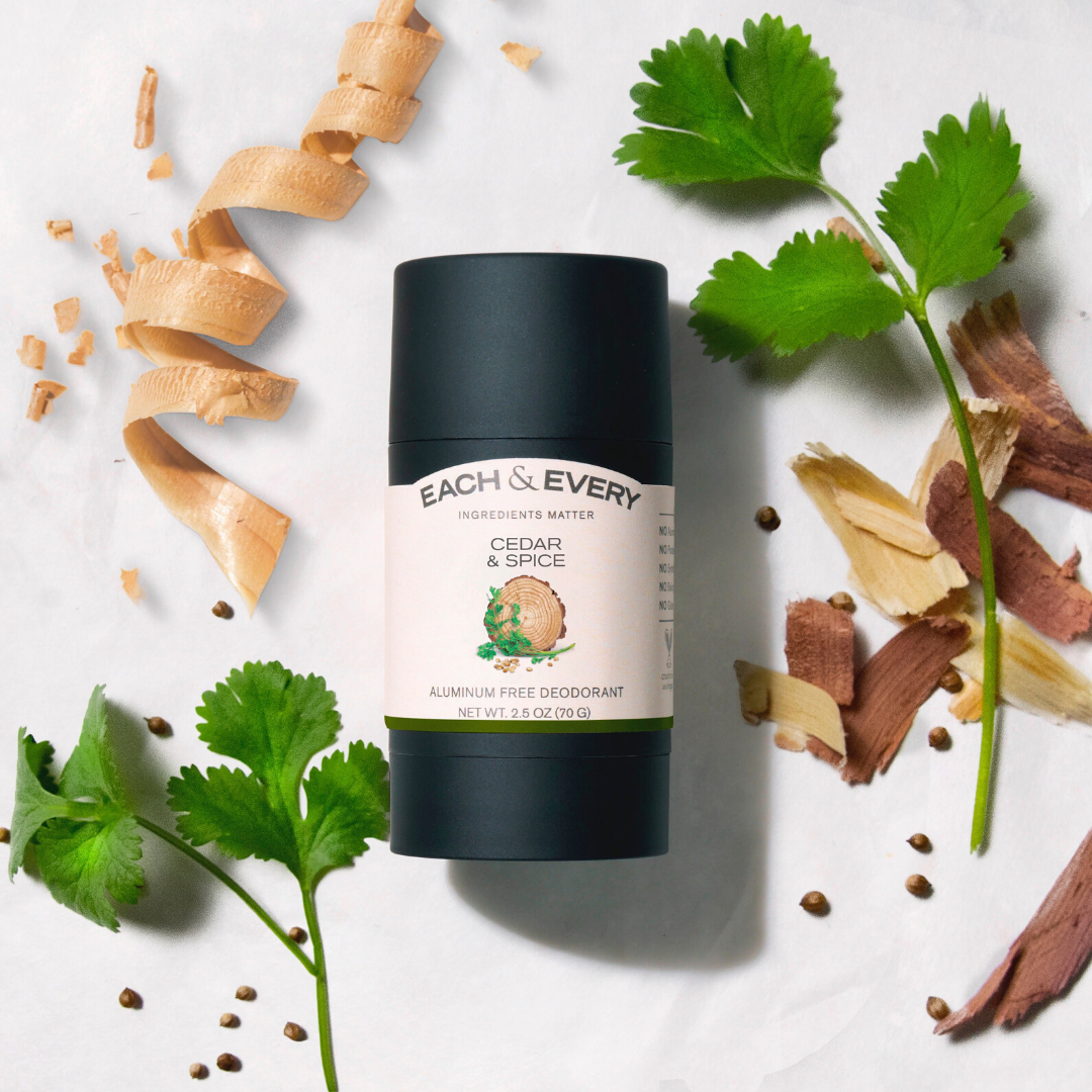 Each and Every Natural Aluminum Free Deodorant