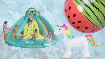 Water toys for yard