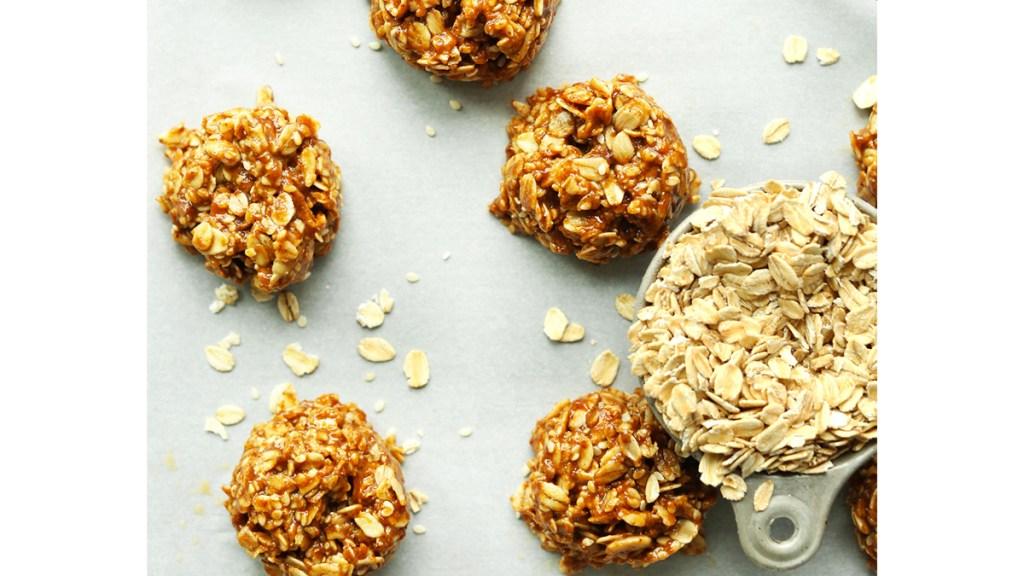 Almond butter no bake cookies