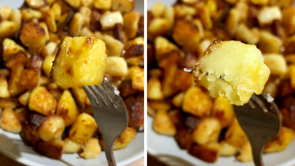 Emily Blunt's roasted potatoes