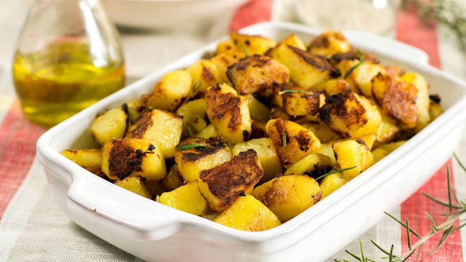 English roasted potatoes