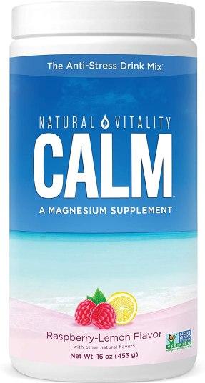natural vitality calm magnesium supplement