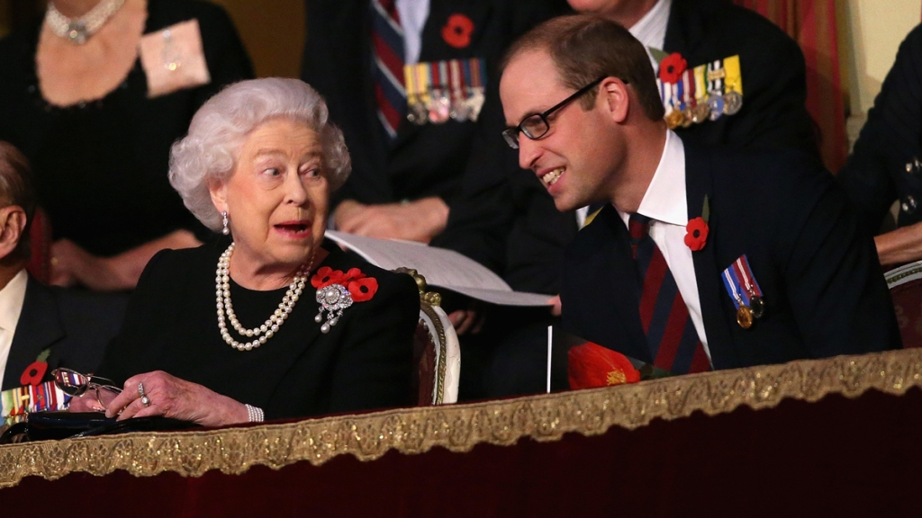 Prince William wearing glasses
