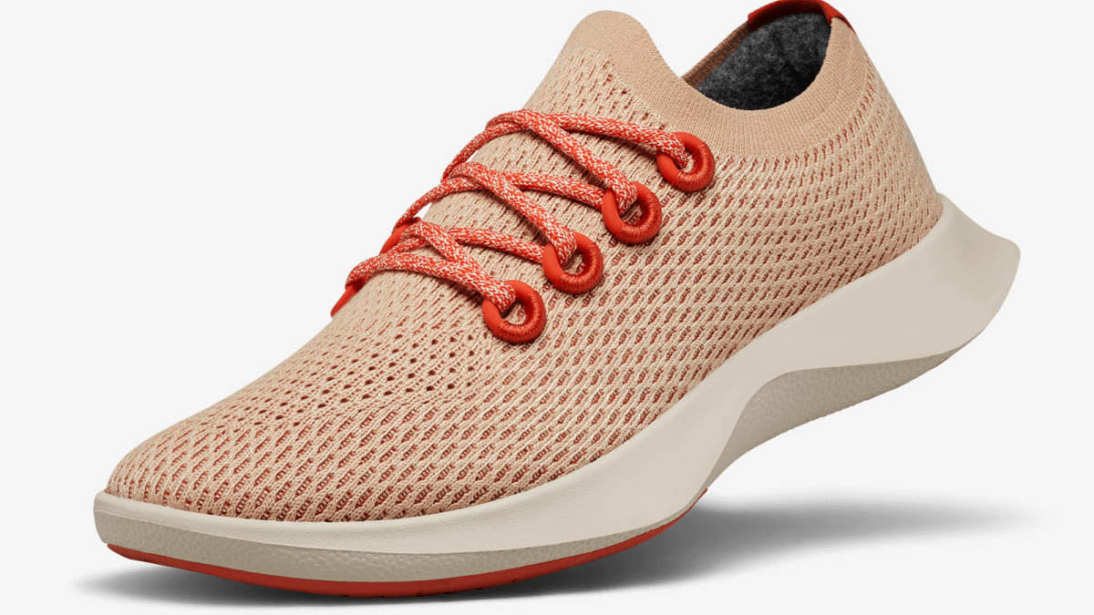 allbirds running shoes in red