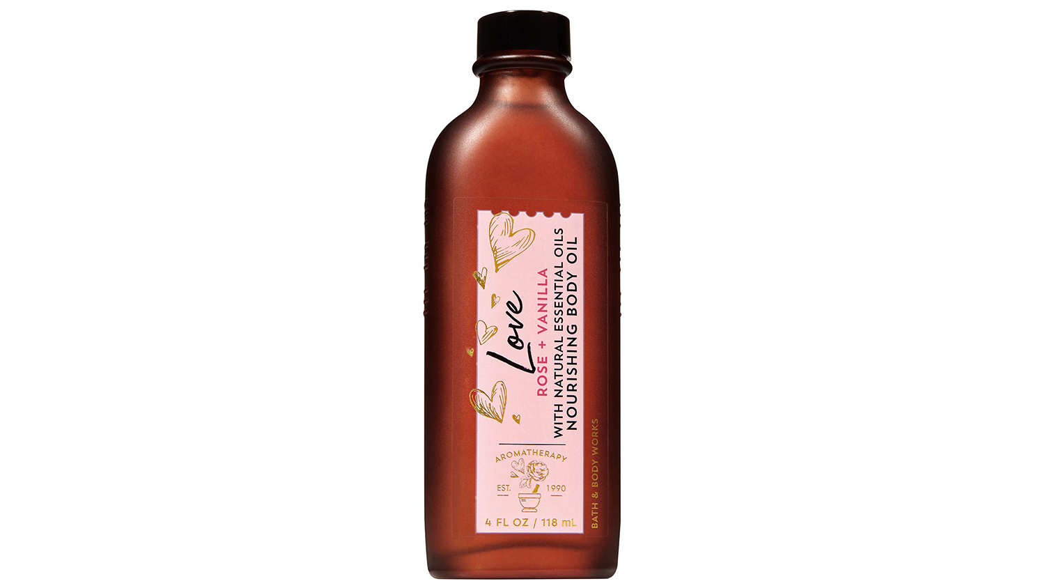 rose and vanilla oil