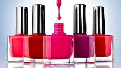 non toxic nail polish bottles