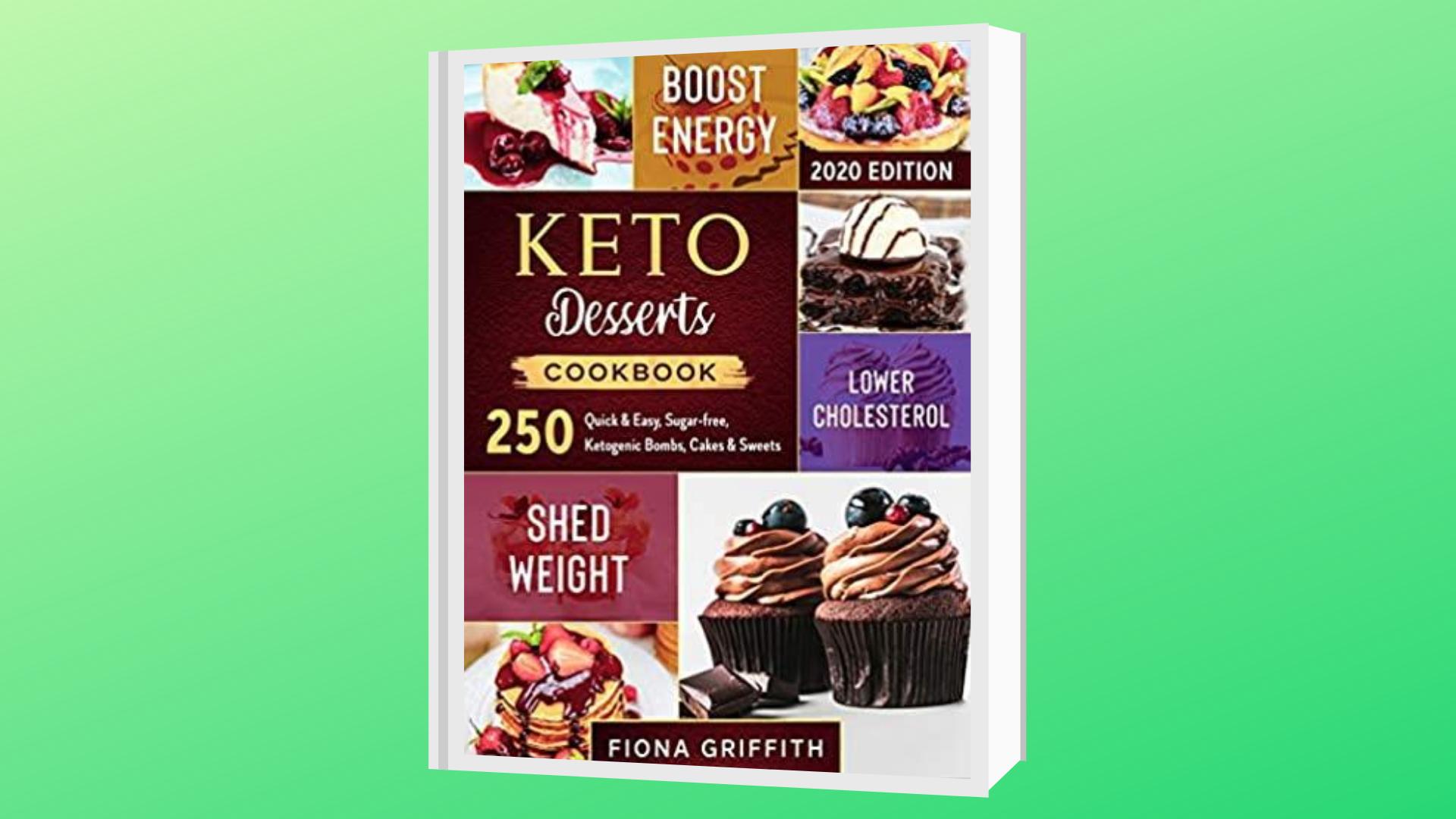 best keto desserts cookbooks