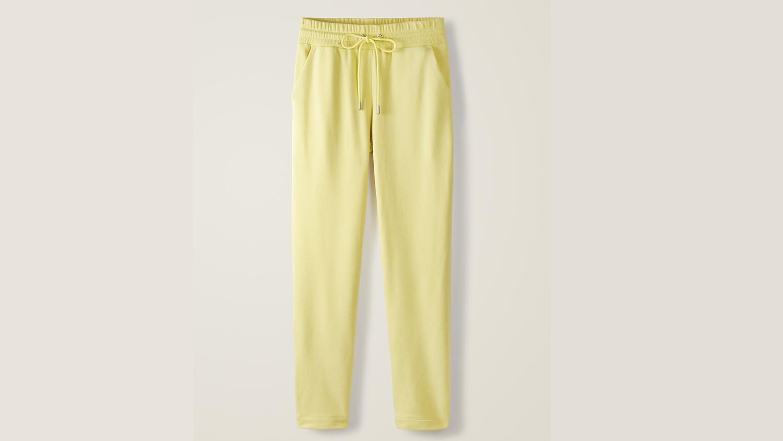 yellow boden jogging pants