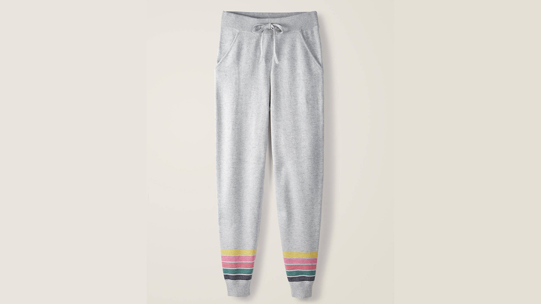 boden rainbow jogging pants