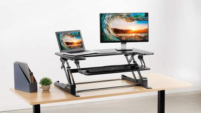Best standing desk converter