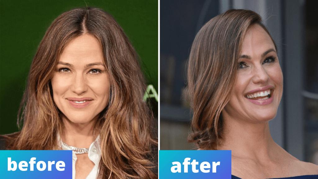 Jennifer Garner hair and makeup for holidays