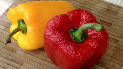 Wrinkled peppers