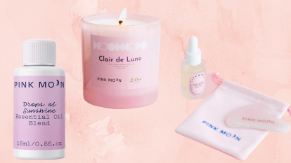 pink moon stress relief beauty and home products