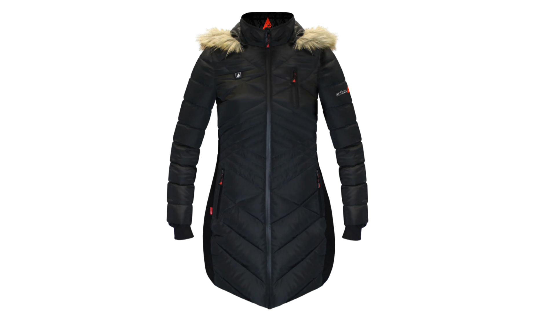 heated puffer jacket
