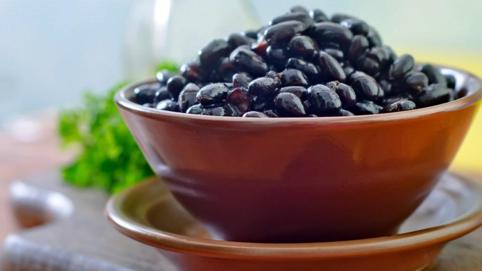 Bowl of black beans