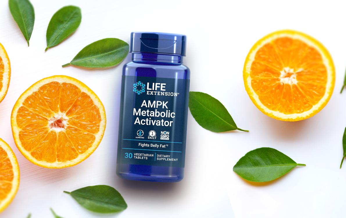 AMPK supplement bottle