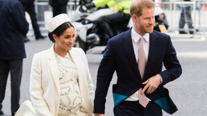 Meghan Markle Maternity Dress