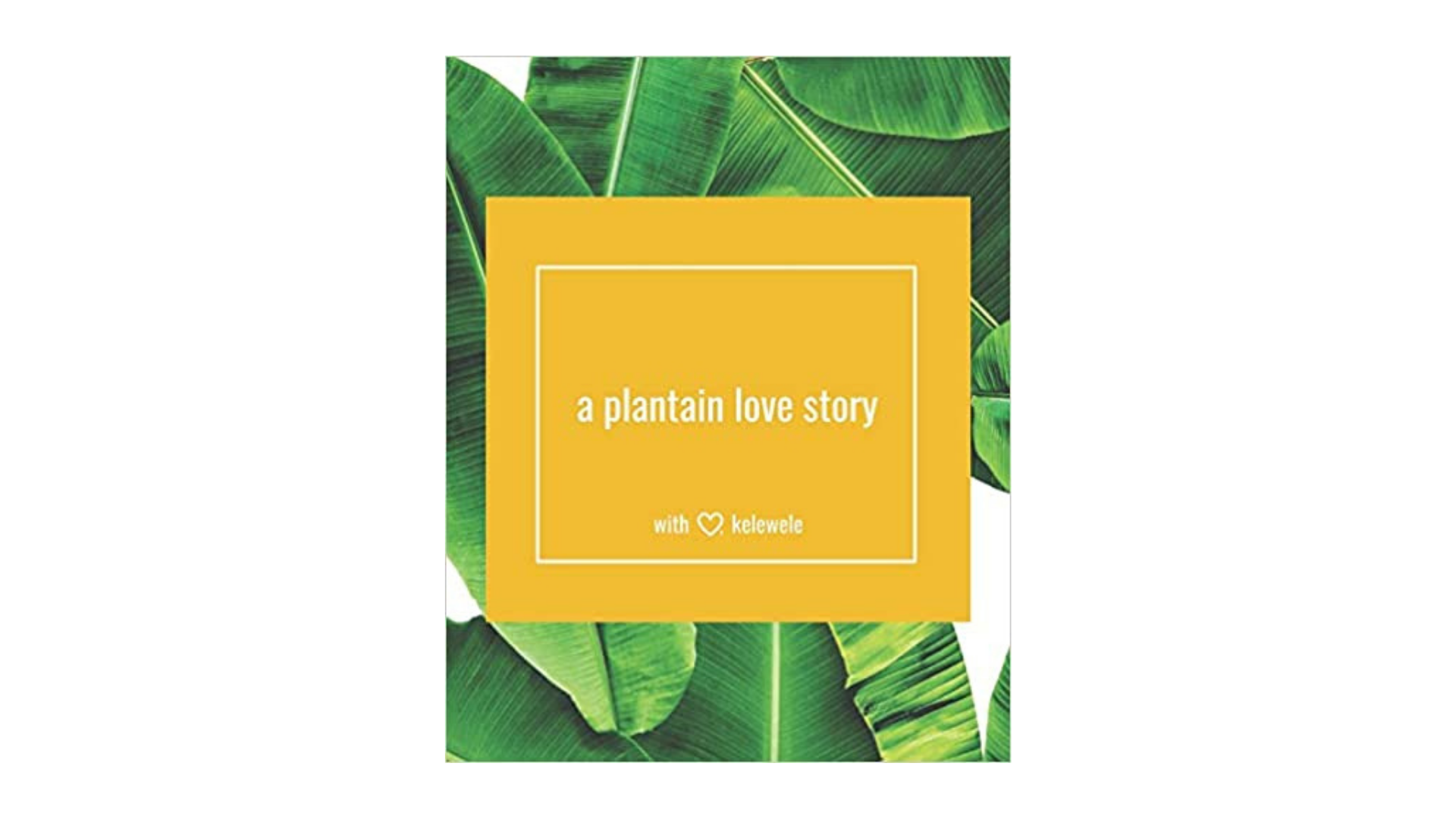 Plantain Love Story best books by black authors