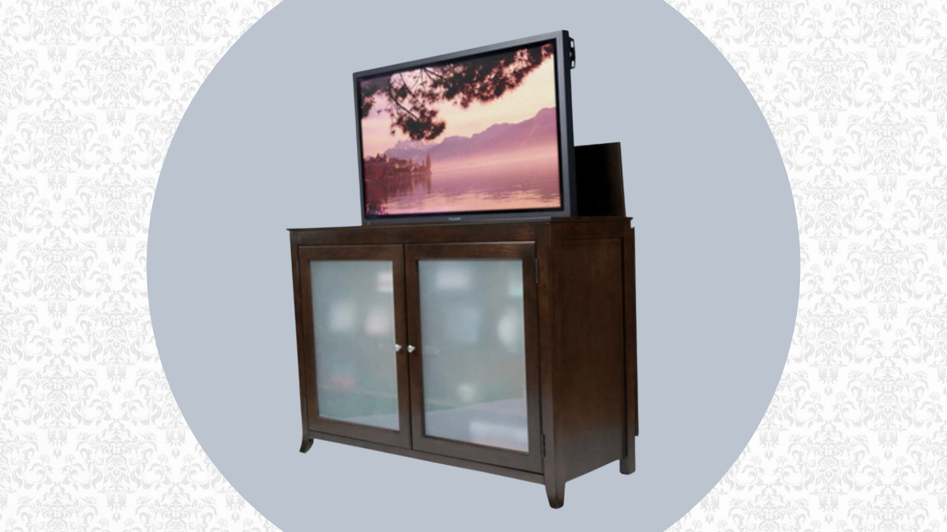 best tv lift cabinets for end of bed