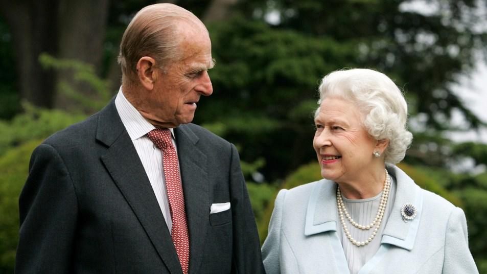 Prince Philip and Queen Elizabeth