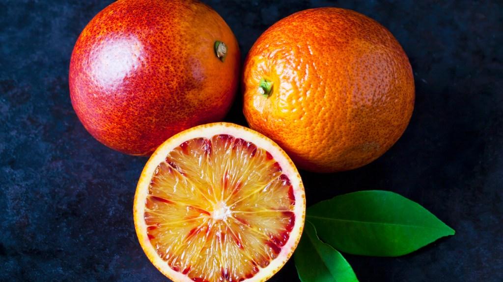 Blood Orange (Citrus Story Photo)