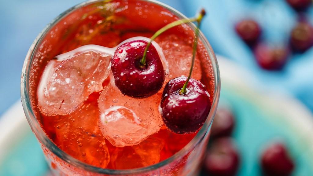 Cherry-Citrus Crush drink