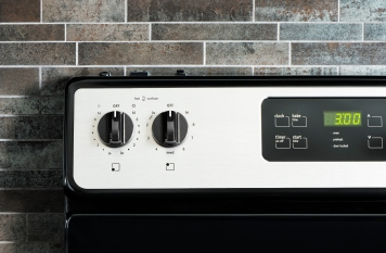 Stove panel knobs